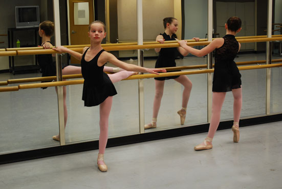 Summer Dance Intensive Students