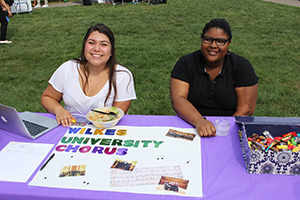 Choral Club Students pose at Club Day