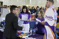 Student at 2016 Internship Fair